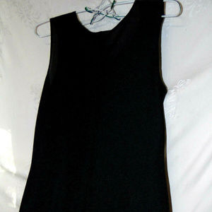 Coldwater Creek Black Poly/Spandex  Maxi Dress
